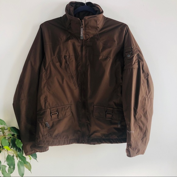 Columbia Jackets & Blazers - Columbia Brown Cargo Winter Jacket